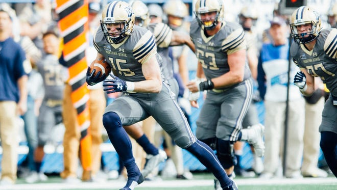 Troy Andersen of Montana State looks for running room against Portland State last season.
