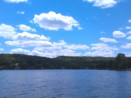 Page Lake today, in new Milford Township, Pennsylvania.