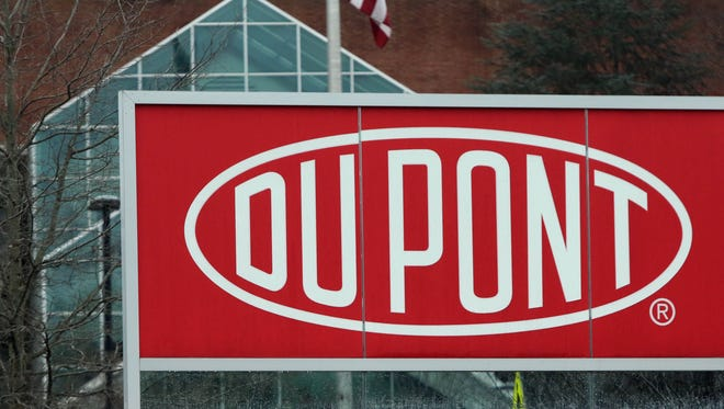 DuPont headquarters in the Chestnut Run Plaza.