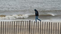 The storm is the third nor'easter to hit the East Coast over the past 10 days.