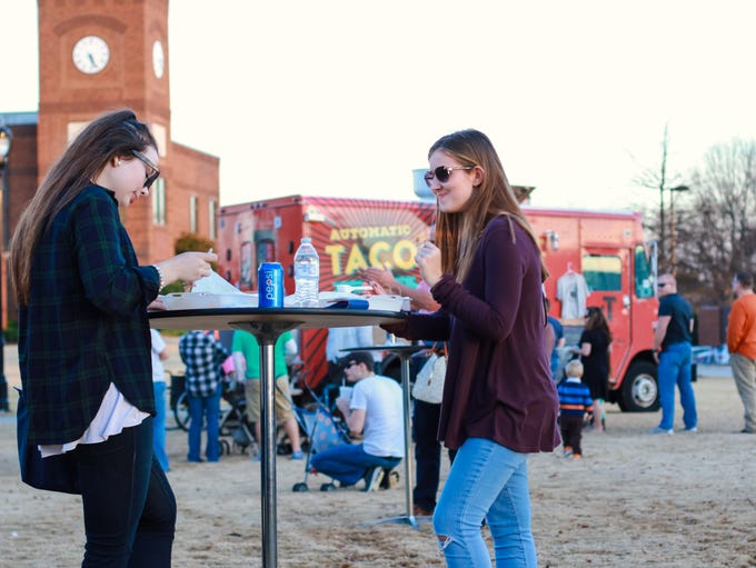 """""""Food Truck Rollout"""" at Greer City Park, featuring"""