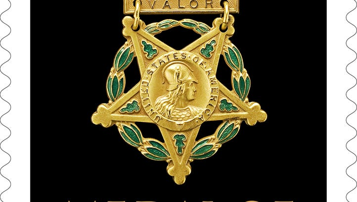 The Medal of Honor stamp
