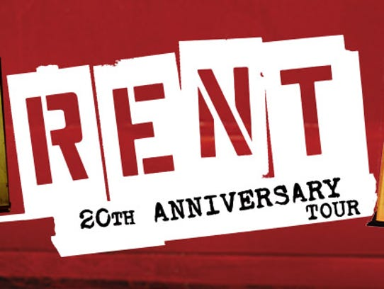 Logo for Rent 20th Anniversary Tour