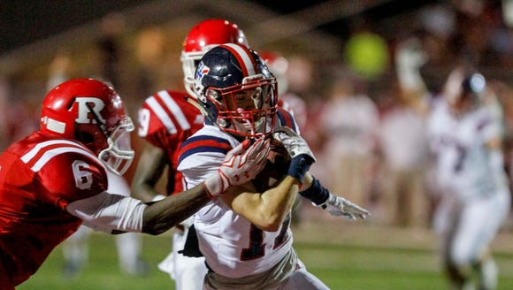 The West Monroe Rebels won Friday's conference game