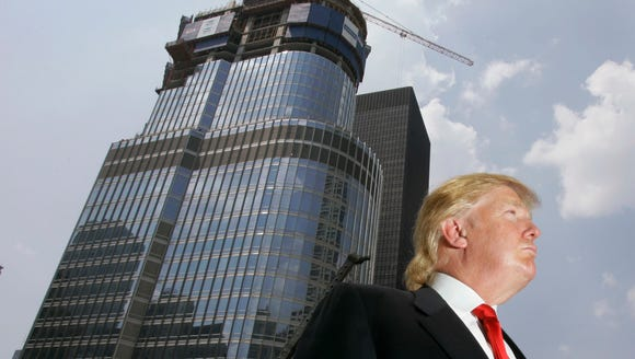 In this May 2007 file photo, Donald Trump is profiled