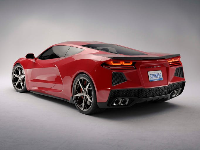 The next Corvette pace car will be mid-engine