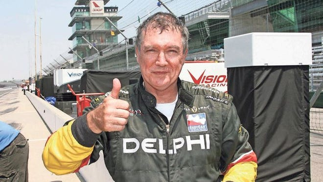 Mike Brudenell survived five practice laps at Indy — and 15 years as the Free Press' motorsports writer.