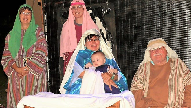 The Living Nativity Diorama is back for its 29th year at the Messiah Lutheran Church in North for Myers. The Living Nativity will be on Dec. 9 and 10 from 7-9 p.m.