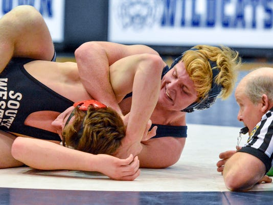 South Western vs Dallastown wrestling