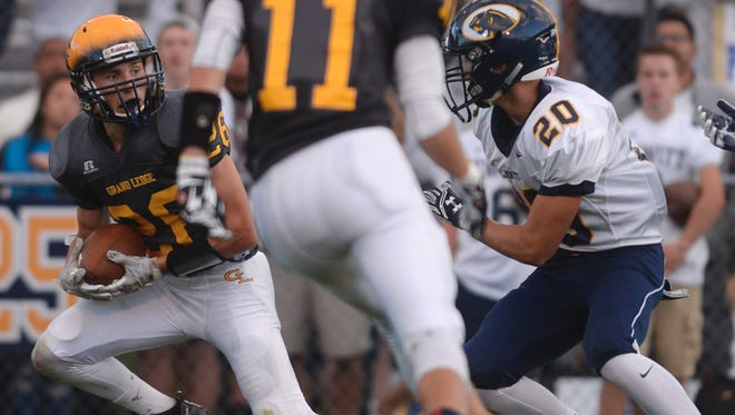 Grand Ledge and DeWitt met on the football field for the first time in several years last fall. The two schools will be making regularly meetings as members of the CAAC Blue starting in the 2018-19 school year.