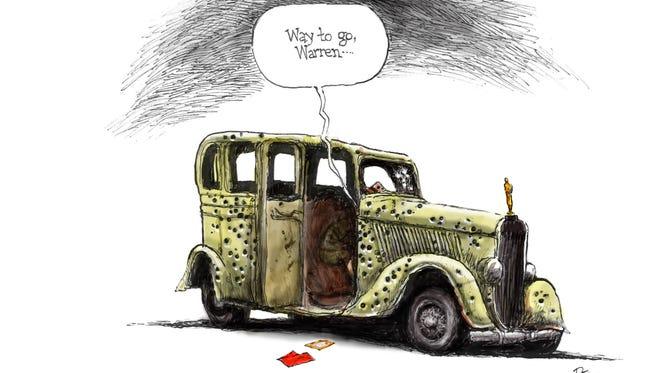 Cartoon for Feb. 28, 2017.