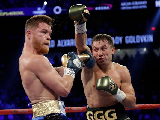 AP ALVAREZ GOLOVKIN BOXING S BOX USA NV
