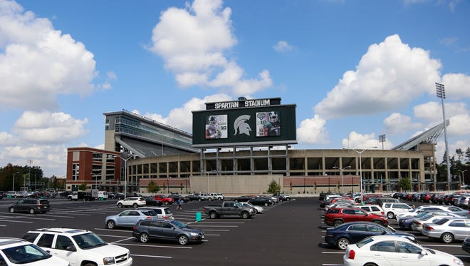 Renovations to the southern portion of Michigan State University's Spartan Stadium were completed in August. MSU opens its 2017 football season against Bowling Green Saturday.