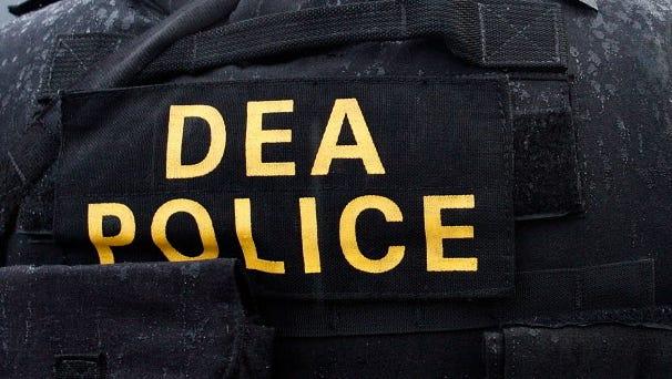 A Drug Enforcement Administration officer