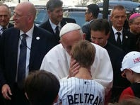 Local youth blessed by pope