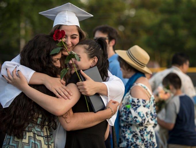 Paramus High School graduation on Thursday June 22,
