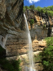 Hemmed-in Hollow near the Buffalo River in Arkansas is a day-trip hike offered by 37 North Expeditions.