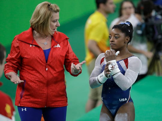 Just as coach Aimee Boorman doesn't perform for gold medalist Simone Biles, politicians can't do the hard work of making America great again, a writer says.