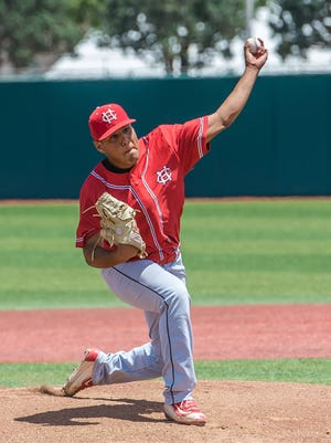 Centennial pitcher Sergio Lucero will be on the South All-Star team for the Bob Ogas North/South All-Star Game Friday and Saturday at the Field of Dreams Baseball Complex.