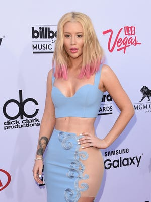 Iggy Azalea attends the 2015 Billboard Music Awards at MGM Grand Garden Arena on May 17, 2015 in Las Vegas, Nevada.