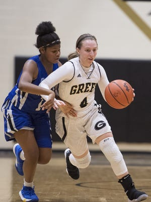 Greer's Megan Jones (4) will play for the East in Saturday's PAA Senior Showcase at Eastside High School.