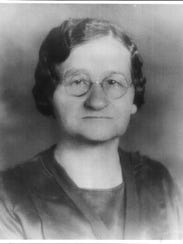 Mary Sands, pictured in 1920, four years after she