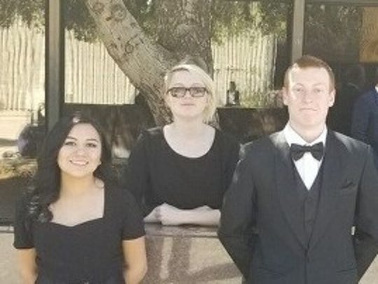 Fernley High students named to all-state band.