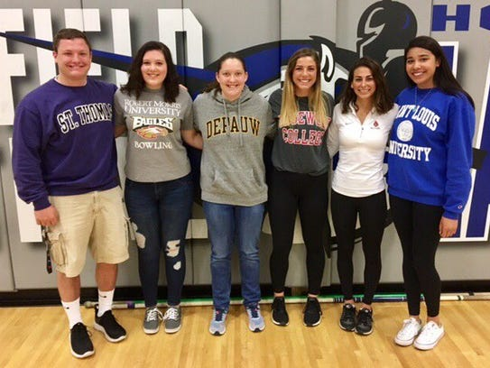 Brookfield Central student-athletes recently signing