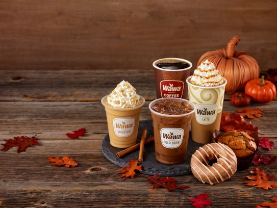 For a limited time, Wawa has pumpkin drinks and pastries.