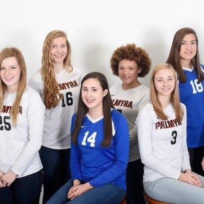 2016 All-Lebanon County Girls Volleyball Team
