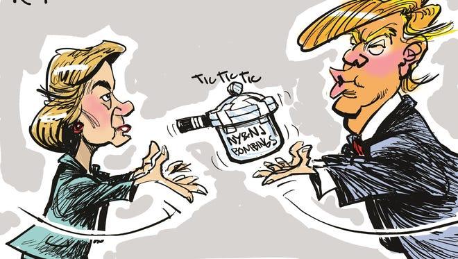 Milt Priggee, www.miltpriggee.com, drew this editorial cartoon.