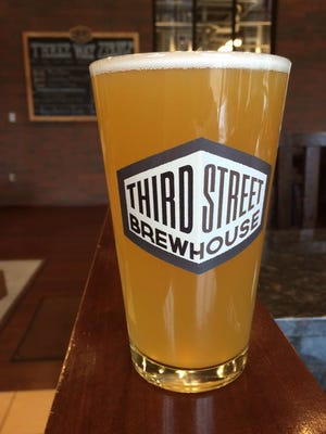 Third Street Brewhouse's summer seasonal wheat beer called Hunny Do was re-released Friday.