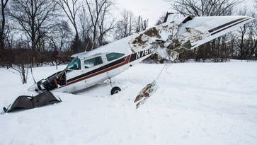 Small plane goes down Friday afternoon near home in Shelburne
