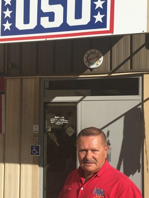 Ron Meier, a volunteer at the Bob Hope USO Palm Springs, was named USO Volunteer of the Year for the United States, from among more than 25,000 USO volunteers nationwide.