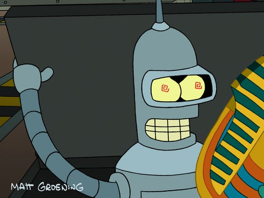 "John DiMaggio, the voice of Bender Bending Rodriguez on 'Futurama,"" will be speaking at Indy PopCon."