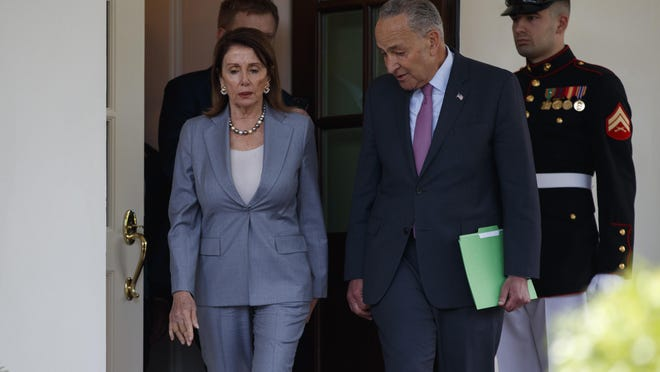 Speaker of the House Nancy Pelosi of Calif., and Senate Minority Leader Sen. Chuck Schumer of N.Y.