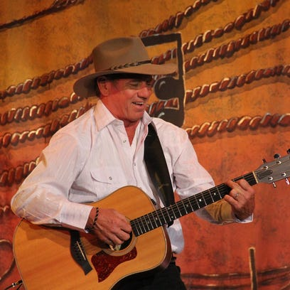 "Tom Wopat stars in ""The Will Rogers Follies"" at the Barn Theatre."