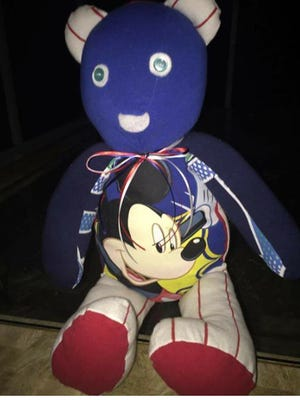 A Florida woman is hoping to reunite the family of a toddler who died three years ago with a teddy bear made of his clothes.