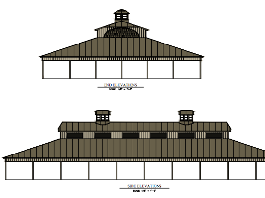 The Germantown Historical Society will build a new 11,200-square-foot pavilion called the Festhalle, once $300,000 is raised. The pavilion will be in the historic Dheinsville Park, near Fond du Lac Avenue, and Holy Hill and Maple roads.