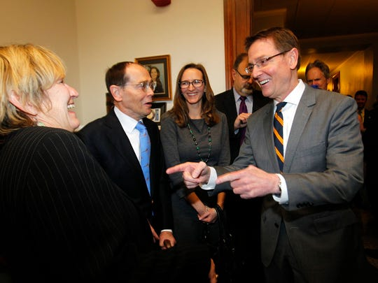 Lexington Mayor Jim Gray before filing to challenge U.S. Sen. Rand Paul in the 2016 election.