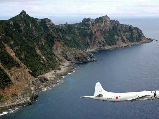 Japan China regional tension