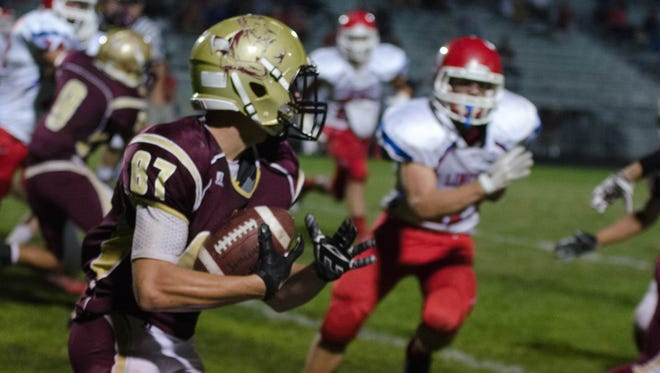 Lincoln wide receiver Logan Garrels has been nominated for the American Family Insurance ALL-USA IOWA player of the week.