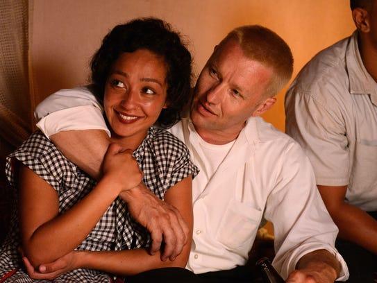 Ruth Negga stars as Mildred and Joel Edgerton stars