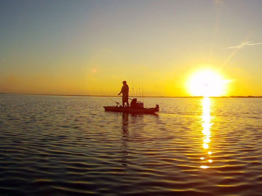 The Shamrock Cove and Wilson's Cut area of Corpus Christi bay attracts both wade anglers and kayakers.