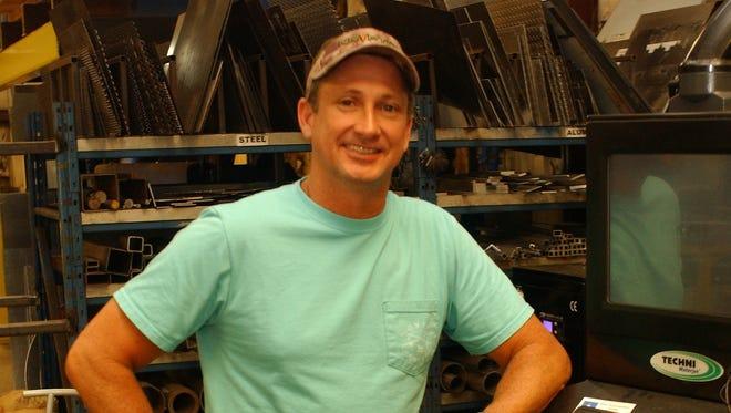 Matt Turner, owner of Metal Fabrication and Sales of Tallahassee LLC.