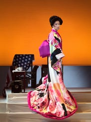 "Yunah Lee in Opera Naples' ""Madama Butterfly"""
