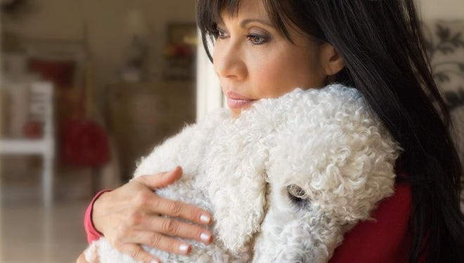 Lin Sue Cooney and Max.