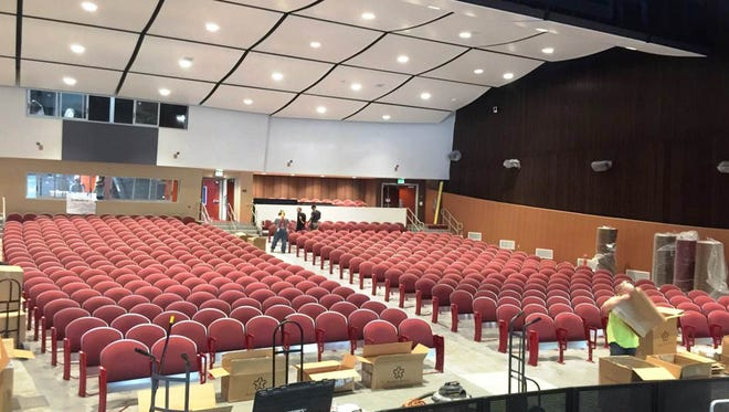 The newly renovated Palm Springs High School Auditorium will be renamed the Richards Center for the Arts during a dedication in November. Richards is Rozene Supple's family name.