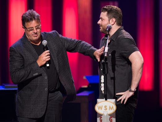 Chris Young surprised with invitation to join Grand OIe Opry