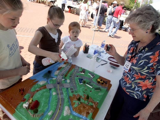 Part of what the Stones River Watershed Association does is education projects, whether it's setting up a booth at Earth Day or teaching community members about paddling the waterways on Boat Day.